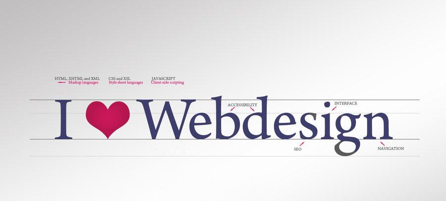 I love Webdesign