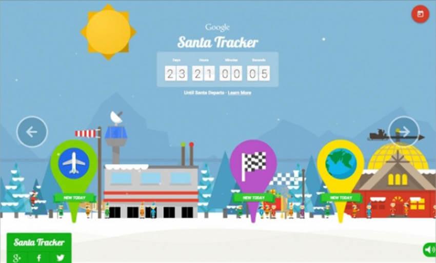 Ακολουθήστε καθημερινά τον Άι Βασίλη και τις εκπλήξεις του χάρη στη Google!
